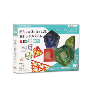 GEOFIX(ジオフィクス) mini ベーシックセット 80ピース 1/2サイズ