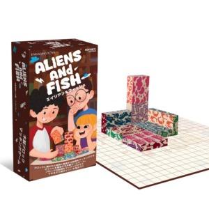 Alien and Fish(エイリアン&フィッシュ) 絵柄をマッチさせる戦略的ボードゲーム