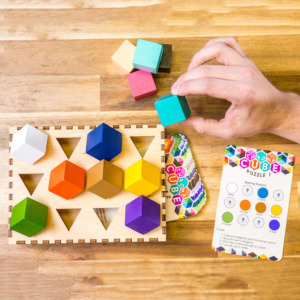 Chroma Cube(クロマキューブ) 色彩感覚と思考力を育てる解決型パズルゲーム
