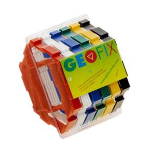 GEOFIX(ジオフィクス) コンポーネント六角形 スタンダードカラー 24ピース