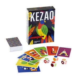KEZAO(ケザオ) 色彩感覚が研ぎ澄まされるスピードカードゲーム