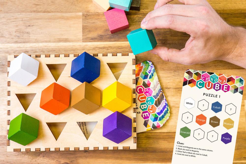 小学生から大人までオススメ!「筋道を立てて考察する力」を鍛えるパズル知育玩具・ChromaCube(クロマキューブ)
